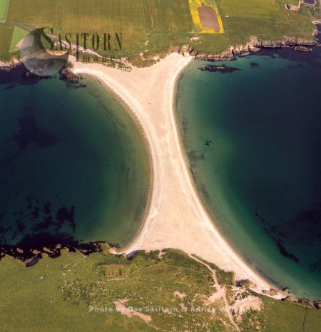 St Ninians Tombola, Connects St Ninian's Isle To Shetland Mainland, Shetland Islands, Scotland