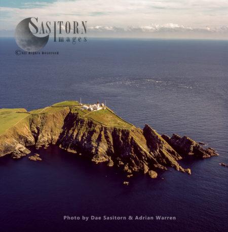 Sumburgh Head Lighthouse, Southen Tip Of Shetland Mainland, Shetland Islands, Scotland