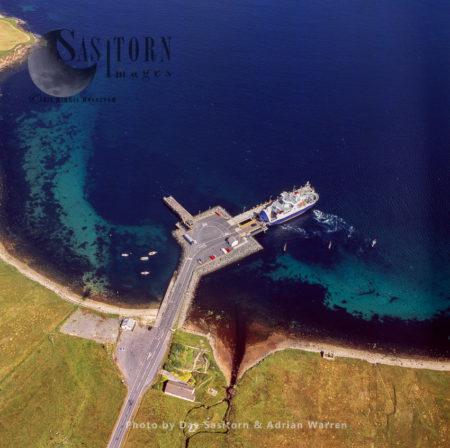 Toft Ferry Terminal, North Of Mainland Shetland, Shetland Islands, Scotland