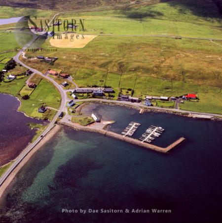 Vidlin, North East Coast Of Shetland Mainland, Shetland Islands, Scotland