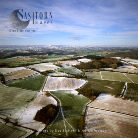 Golden Valley, Malvern Hills, Herefordshire, England