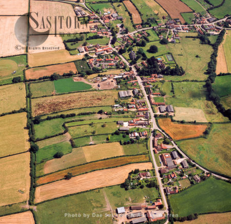 Laxton With Its Mediaeval Open Field System, Nottinghamshire