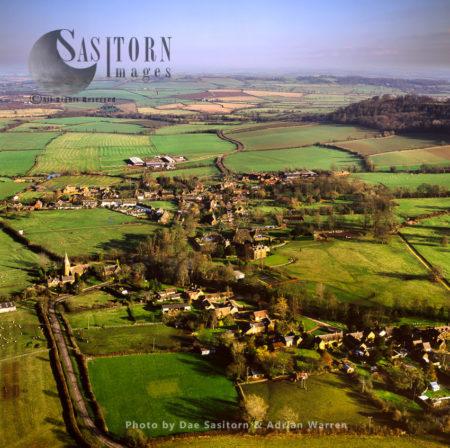 Radway Village And Edge Hill, Warwickshire, England