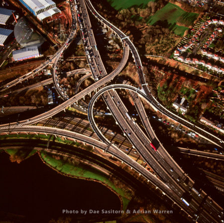 Spaghetti Junction Or Gravelly Hill Interchange, Birmingham, England