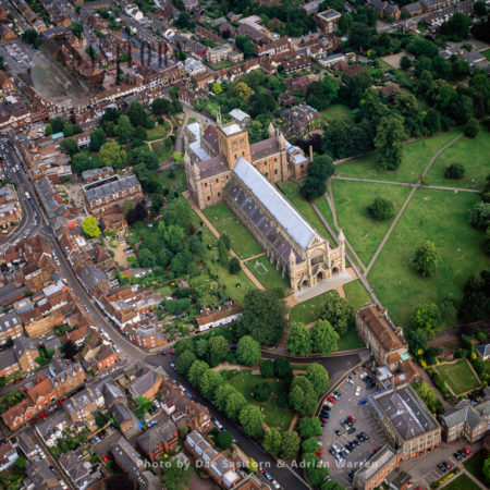 St Albans Cathedral, Hertfordshire, England