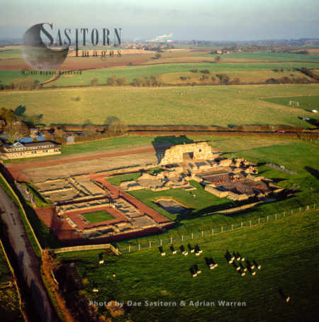 Wroxeter (The Site Of The Fourth Largest Town In Roman Britain, Called Viroconium), Shropshire, England