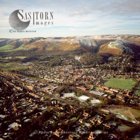 Church Stretton In Winter, Shropshire, England