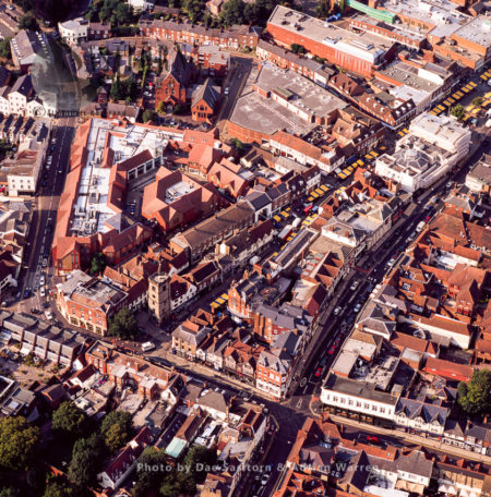 High Street, St Albans City, Hertfordshire, England