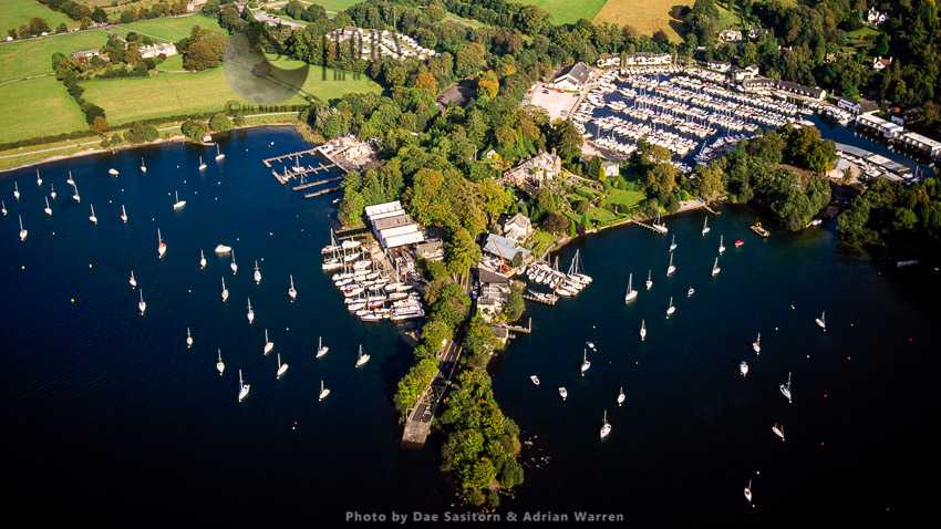 Storrs, On Windermere, Just South Of Bowness-on-Windermere, Lake District National Park, Cumbria