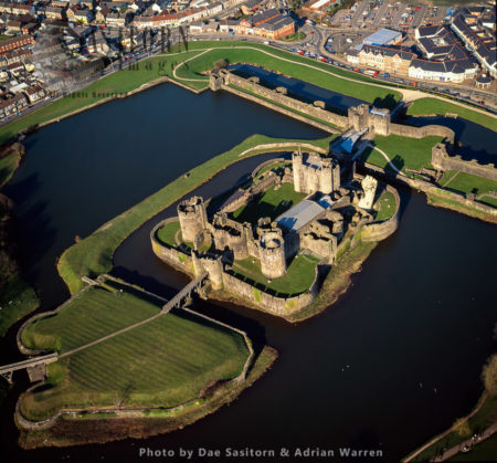 Caerphilly Castle (Welsh: Castell Caerffili), A Medieval Fortification In Caerphilly, South Wales