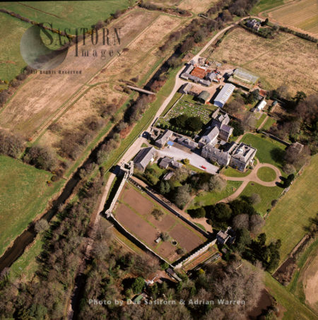 Ewenny Priory, In Ewenny, Vale Of Glamorgan, Wales