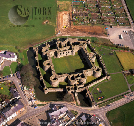 Beaumaris Castle (Welsh: Castell Biwmares), Beaumaris, Anglesey, North Wales