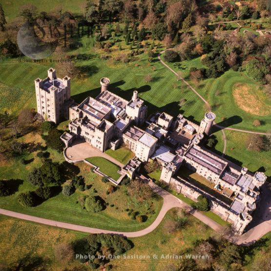 Penrhyn Castle, A Country House In Llandygai, Bangor, Gwynedd, North Wales