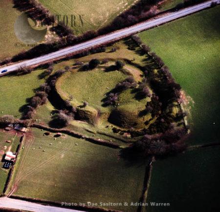 Tomen-y-Rhodwydd (Castell-y-Rhodwydd), A Ditched Motte, Site Of A Motte And Bailey Castle, Denbighshire, North Wales