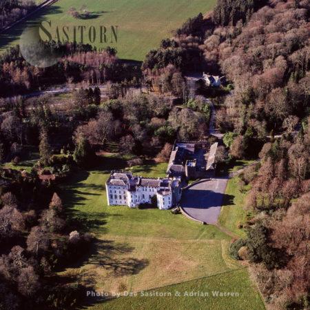 Picton Castle, Medieval Castle Near Haverfordwest,  Pembrokeshire, Wales