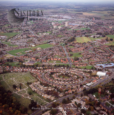 Killingbeck Cemetery And Leeds City Centre, Yorkshire
