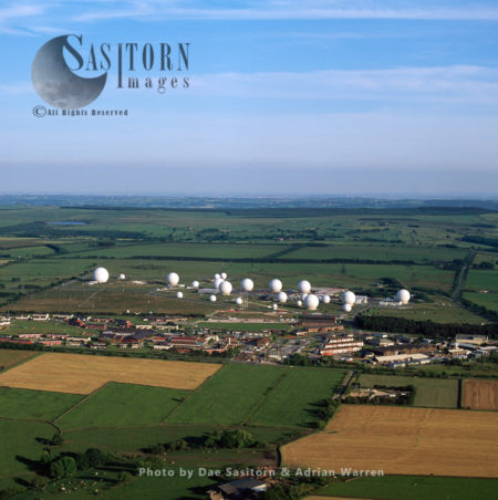 RAF Menwith Hill, Satellite Ground Station And A Communications Intercept And Missile Warning Site,  Harrogate, North Yorkshire