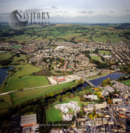 Otley, A Market Town  On The River Wharfe, West Yorkshire