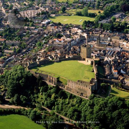Richmond Castle, On The River Swale, Richmond, North Yorkshire