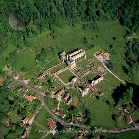 Rievaulx Abbey, North York Moors National Park, England