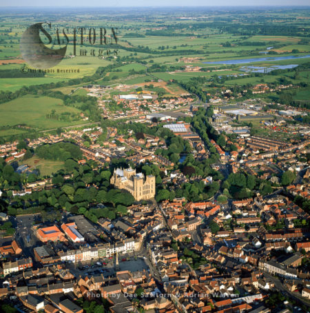 Ripon City And Its Cathedral, North Yorkshire, England