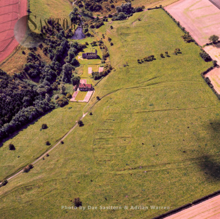Wharram Percy Deserted Medieval Village, North Yorkshire, England