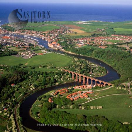 Larpool Viaduct Bridge, Whitby, North Yorkshire, England