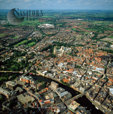 York City, On The Ouse River, Yorkshire, England
