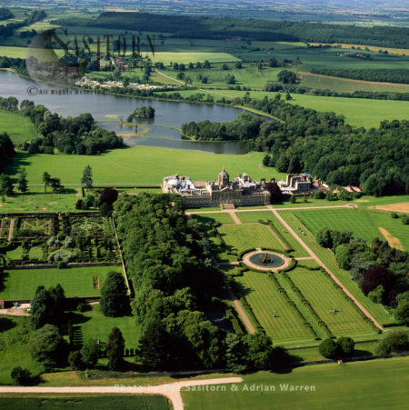 Castle Howard, A Stately Home In North Yorkshire,  England