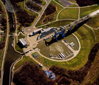 The Falkirk Wheel, Falkirk, Scotland,