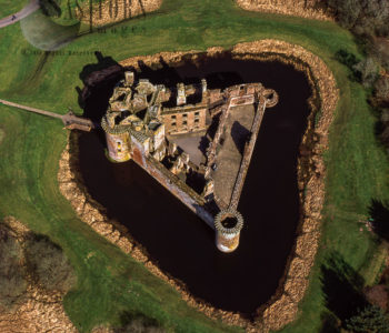 Caerlaverock Castle, On Solway Firth, Near Dumfries, Scotland