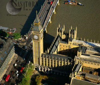 Big Ben And Palace Of Westminster, Westminster Bridge, Westminster, London, England