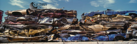 Recycled Cars, California, USA