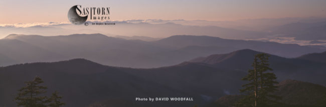 Dawn At Great Smoky Mountains National Park, Tennessee, USA