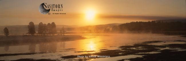 Sunrise At Pelican Creek, Yellowstone Lake, Yellowstone National Park, Wyoming, USA