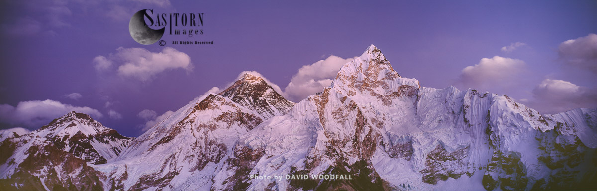 Mount Everest, Mount Nuptse, from Kala Pattar, Sagamartha National Park, Nepal