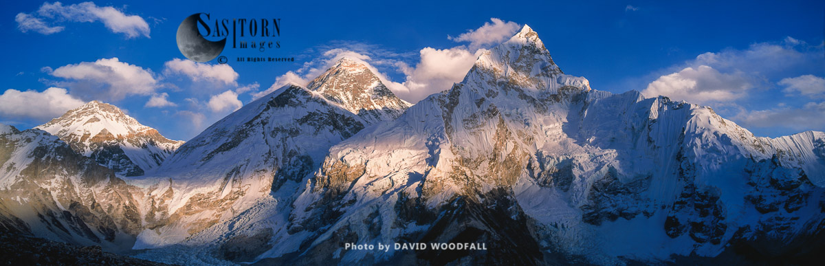 Mount Everest, Mount Nuptse, from Kala Patthar, Sagamartha National Park, Nepal