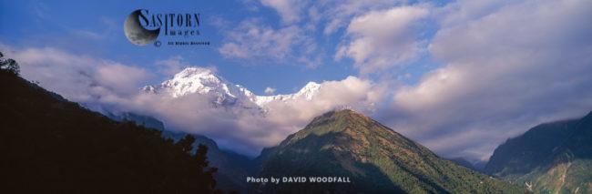 Annapurna South, Also Called Annapurna Dakshin Or Moditse, Himalayas, Conservation Area, Nepal