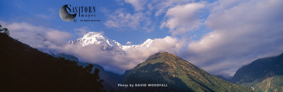Annapurna South, also called Annapurna Dakshin or Moditse, Himalayas, Conservation Area, Nepal