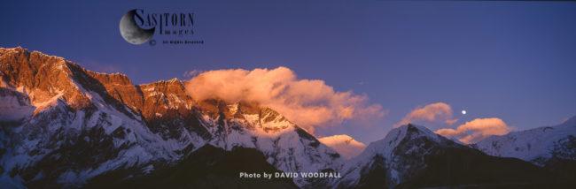 Island Peak (Imja Tse), Sagarmatha National Park Of The Himalayas Of Eastern, Nepal