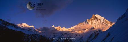 Machupucharre Peak, Annapurna Conservation Area, Himalayas, Nepal