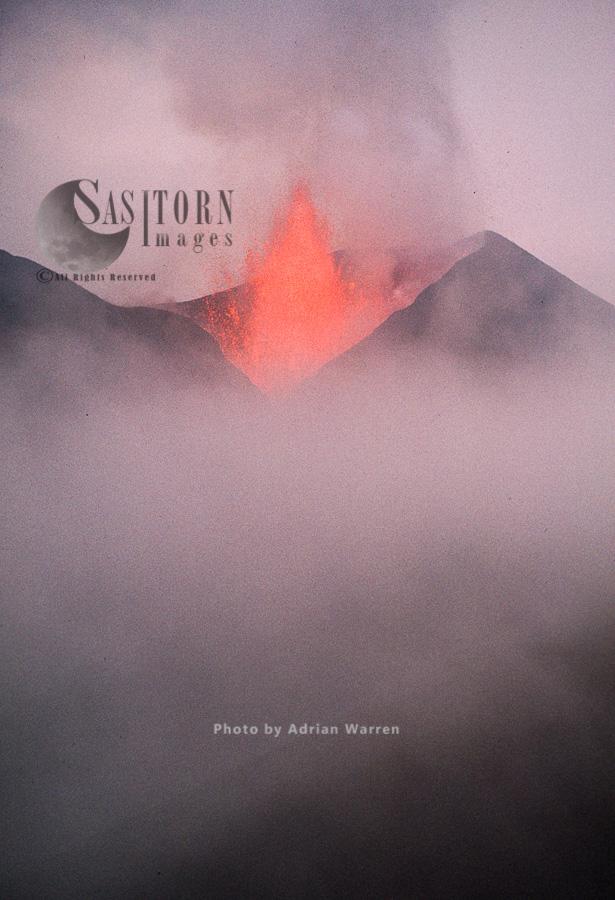 Volcano Eruption: Kimanura, May 1989, Nyamlagira, Zaire (Democratic Republic Of The Congo)