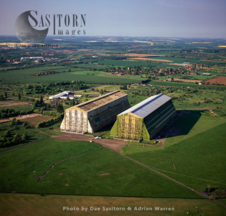 Cardington Airfield, Former Royal Air Force Station In Bedfordshire