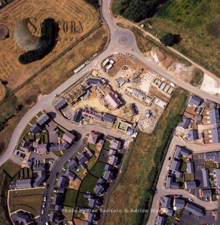 Construction Of New Housing, Grantham, Lincolnshire