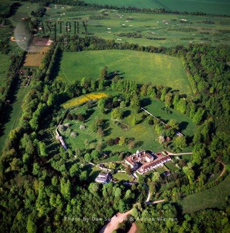 Wandlebury Hillfort (Wandlebury Ring), An Iron Age Hillfort, Gog Magog Down, Cambridgeshire