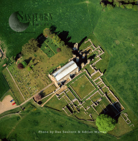 St Mary's Priory Or Binham Priory, A Ruined Benedictine Priory, Binham, Norfolk