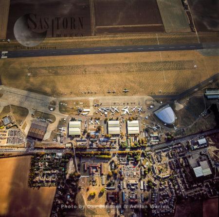 Duxford Aerodrome, Now Imperial War Museum Duxford And The American Air Museum,  Cambridgeshire