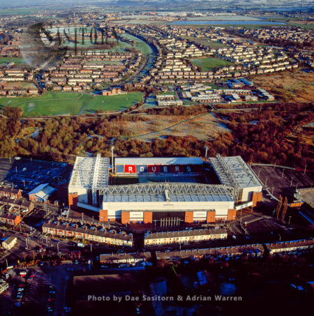 Blackburn Football Stadium, Lancashire