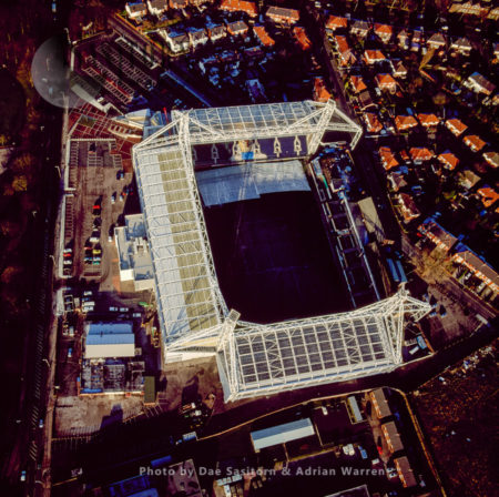 Preston Football Stadium, Lancashire