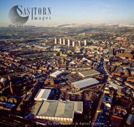 Rochdale, A Large Town T The Foothills Of The South Pennines, Greater Manchester